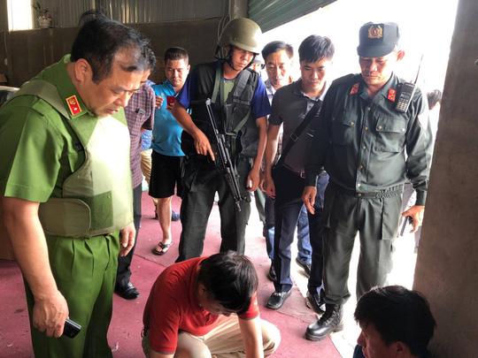 Thiếu tướng Phạm Văn Các chỉ đạo án