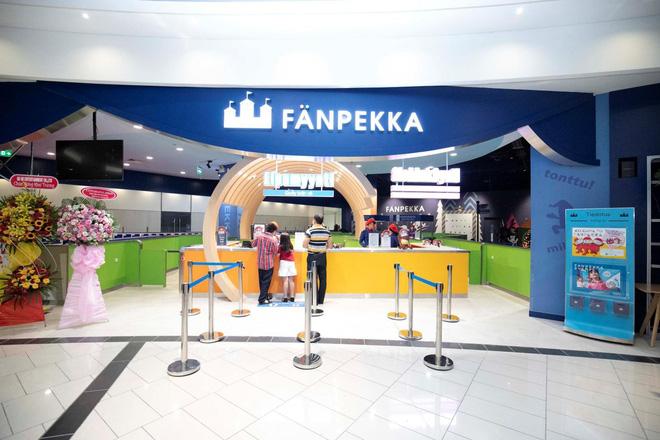 Công viên giải trí Fanpekka tiêu chuẩn châu Âu lần đầu tiên xuất hiện tại AEON MALL Tân Phú Celadon