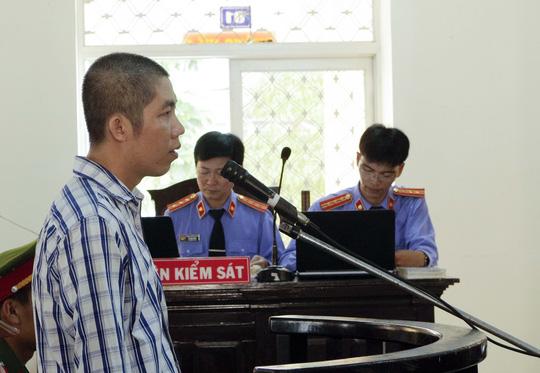 Bị cáo Cao Quốc Phong trước tòa