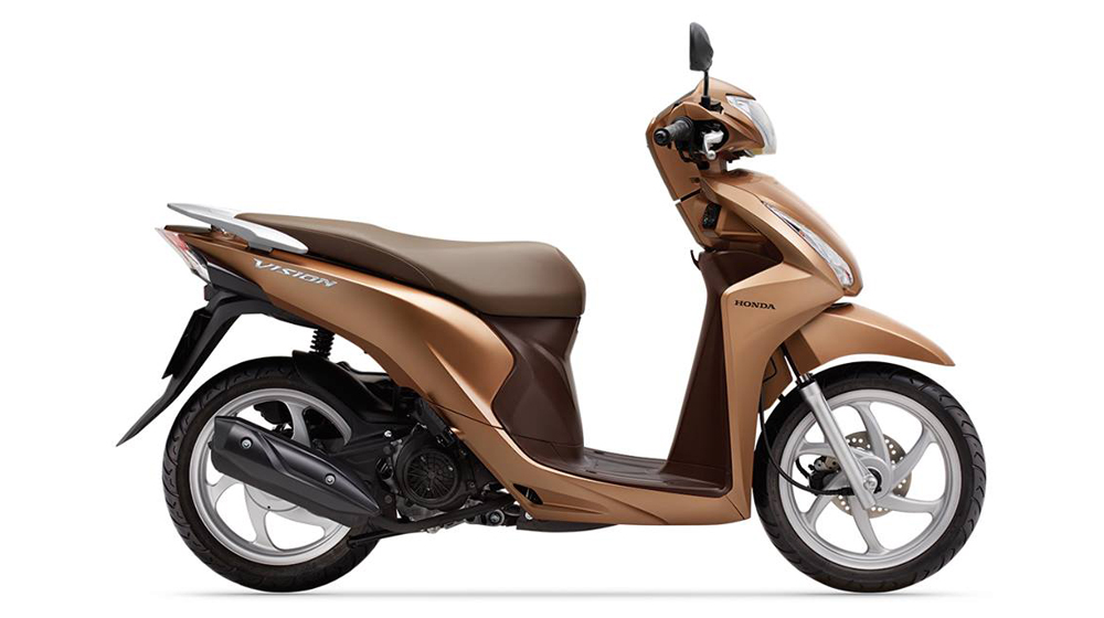 """Honda Vision được dự báo sẽ tiếp tục """"gây bão"""" trên thị trường Việt trong dịp cuối năm nay. Ảnh: Honda"""