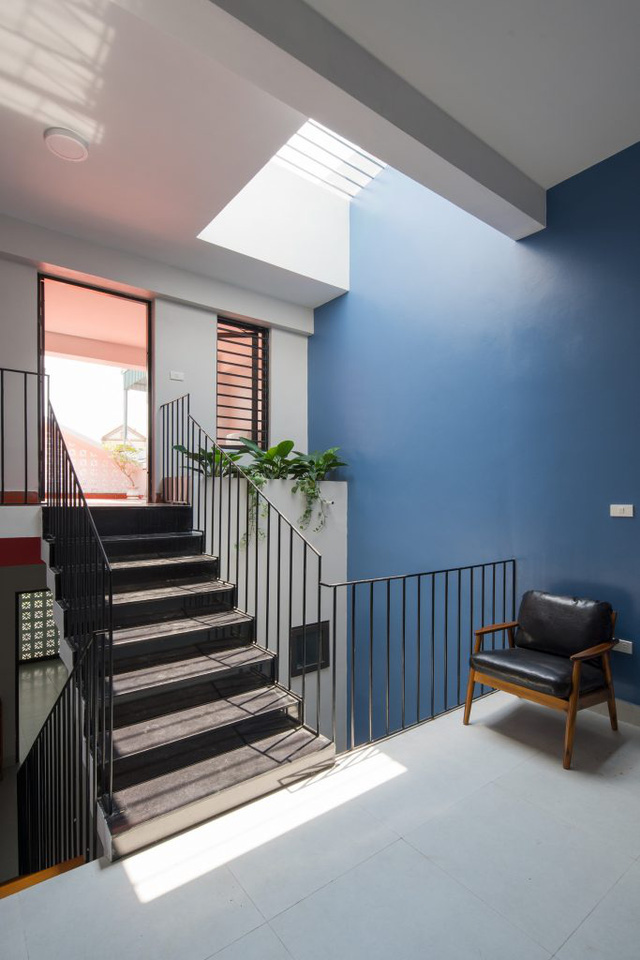 Tầng 2 và 3 là được bố trí làm không gian nghỉ ngơi và thư giãn của chủ nhà.