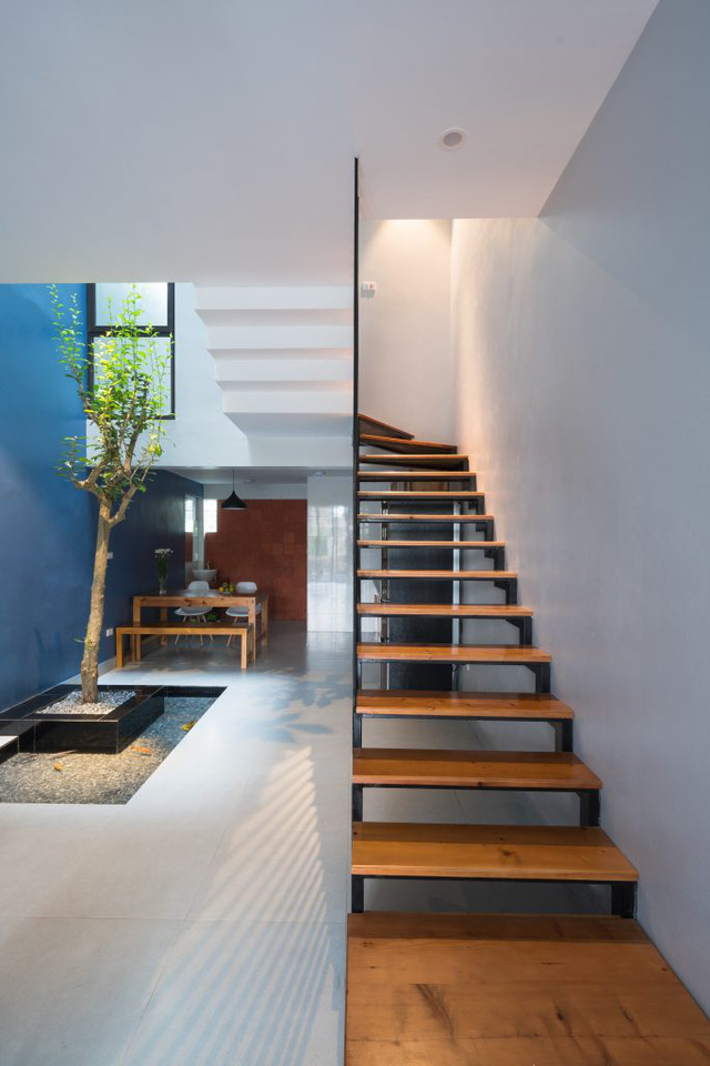 Tầng 2,3 là không gian dành cho nghỉ ngơi và thư giãn của gia đình.