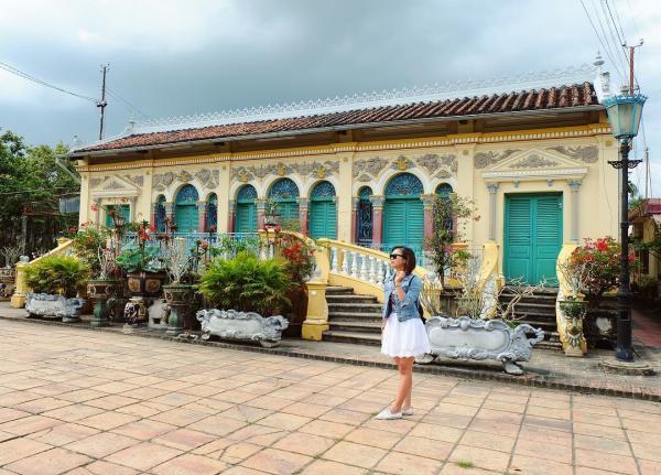 Ngôi nhà cổ của gia đình họ Dương đã được xây dựng từ năm 1870. (Nguồn: @thao.ngthu)