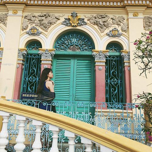 Nhà cổ Bình Thủy tọa lạc trên đường Bùi Hữu Nghĩa. (Nguồn: @nhuuu247)