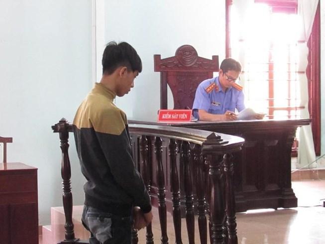 Bị cáo Tài tại phiên tòa phúc thẩm ngày 30/12. Ảnh: NN