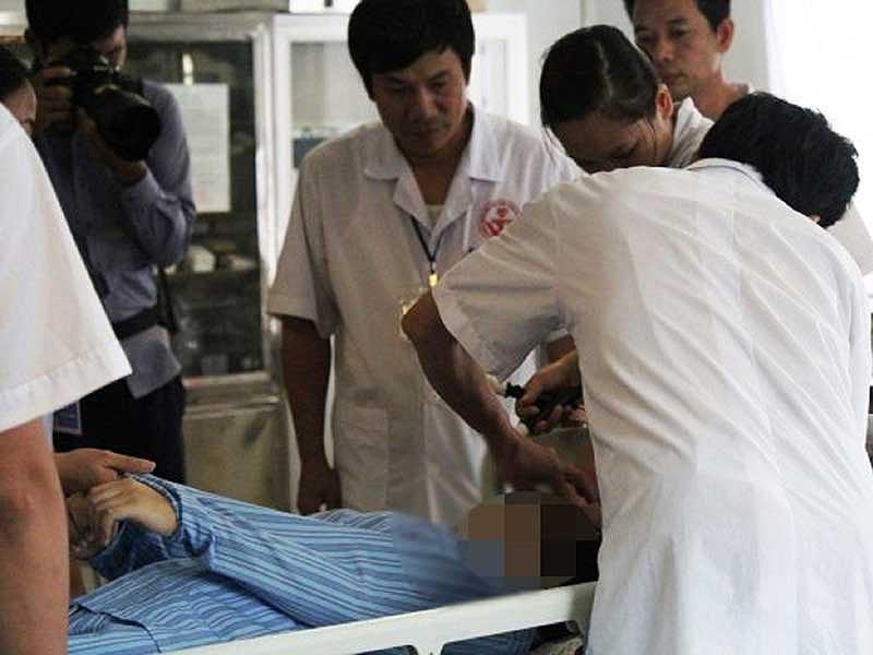 Bệnh nhân nhập viện do nghiện Facebook tại BV Tâm thần Trung ương 1. Ảnh: HÀ PHƯỢNG