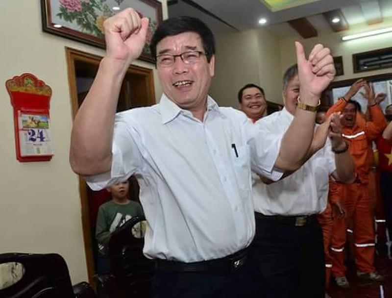 Ông Lương Bách Chiến, bố ruột của Lương Xuân Trường hiện công tác tại Phòng Tổ chức hành chính, Công ty Điện lực Tuyên Quang.