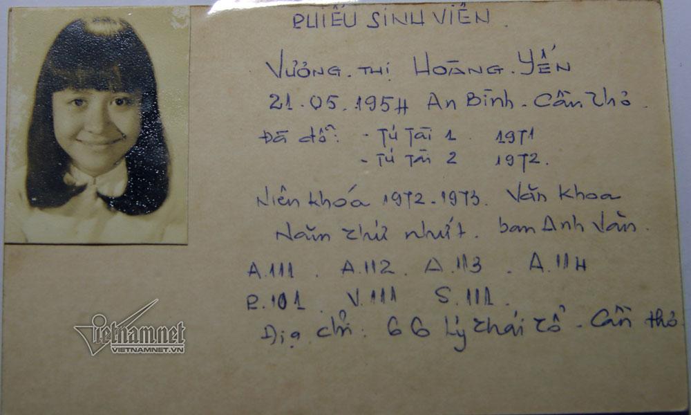 Hay cựu sinh viên Nguyễn Văn Nở, hiện là Phó trưởng Khoa Sư phạm, Trường ĐH Cần Thơ.