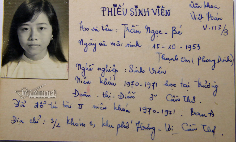Tới nay, nhiều cựu sinh viên vẫn tìm tới ông Minh.