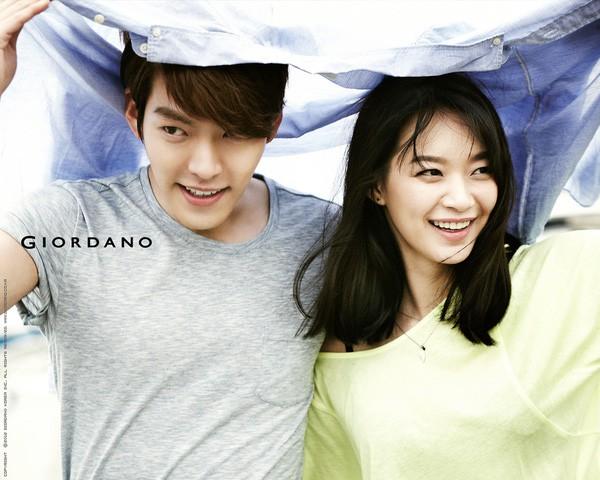Kim Woo Bin có một tình yêu đẹp với Shin Min Ah