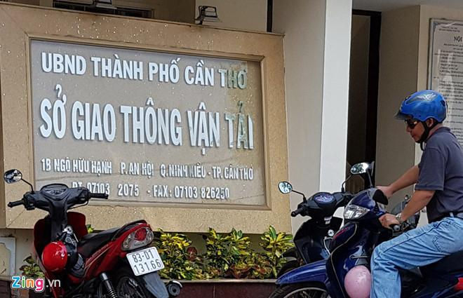 Sở GTVT Cần Thơ. Ảnh: Việt Tường.