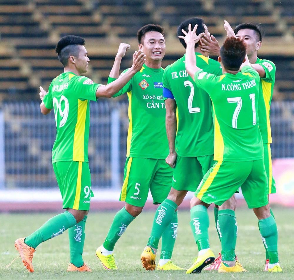 Sau 4 vòng đấu XSKT Cần Thơ đang nằm trong Tốp 5 của V-League 2018.
