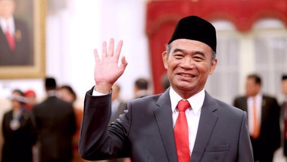 Bộ trưởng Bộ Điều phối phát triển con người và văn hóa Indonesia, ông Muhadjir Effendy. Ảnh: Twitter