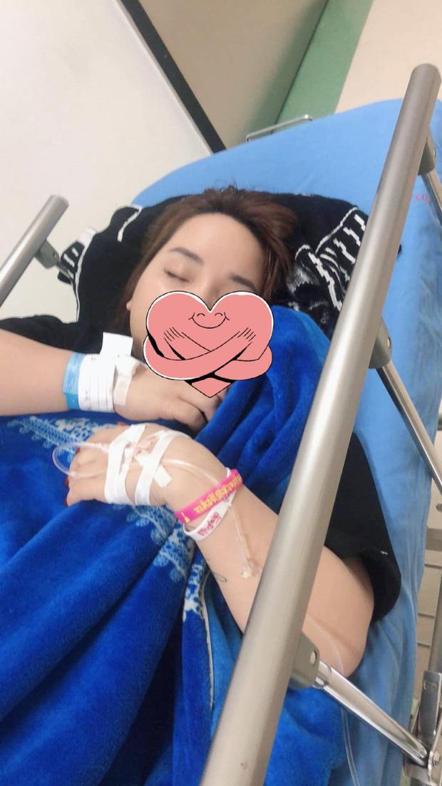 Hình ảnh Hương Thảo cấp cứu tại Bệnh viện 108