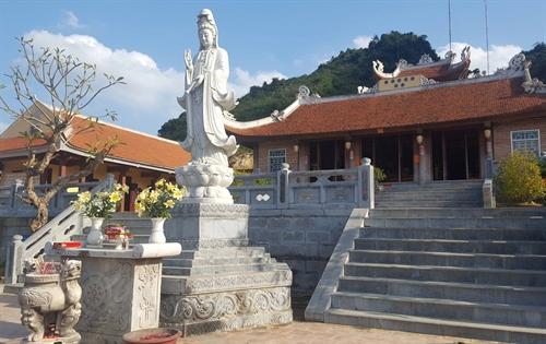 Việc khánh thành ngôi chùa tại nơi biên cương sẽ là điểm đến du lịch tâm linh và đẩy mạnh phát triển du lịch của địa phương.