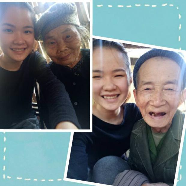 Hình ảnh hai bà cháu tình cảm bên nhau. Read more at http://www.phunutoday.vn/dan-mang-xuc-dong-hinh-anh-ba-ngoai-75-tuoi-mot-minh-treo-cay-thu-hoach-qua-cho-chau-gai-d151516.html#DOtdQFTUjtEkVZwl.99