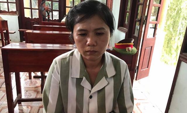 Chị Hường ân hận vì đã không kìm chế được cơn nóng giận, khiến mẹ chồng tử vong.