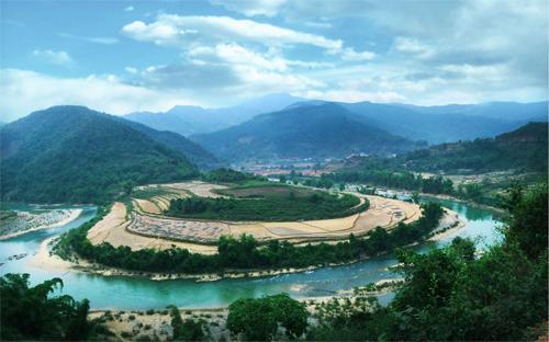 Sông Gâm, đoạn qua Bảo Lạc, Cao Bằng