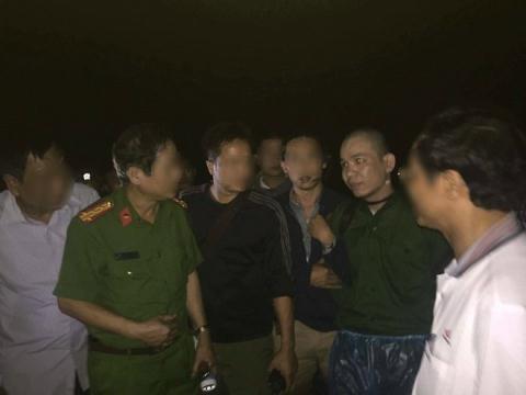 Nguyễn Văn Tình bị bắt giữ (Ảnh Đời sống Plus/GĐVN)