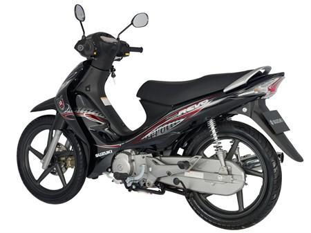 Suzuki Revo sở hữu thiết kế thon gọn, khỏe khoắn. Ảnh minh họa