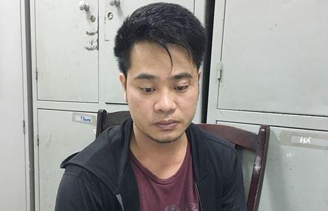 Đồng phạm của Trung là Long đã có một tiền án về tội Cướp tài sản (Ảnh CACC)
