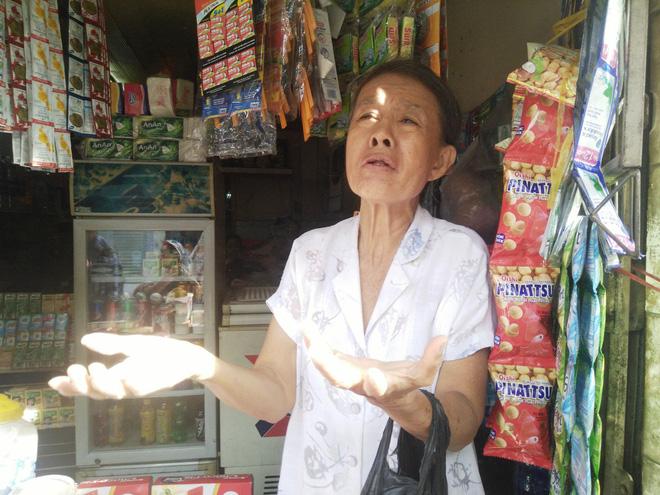 Bà Thuận vẫn chưa hết bàng hoàng kể lại sự việc xảy ra chiều hôm qua 26/11.