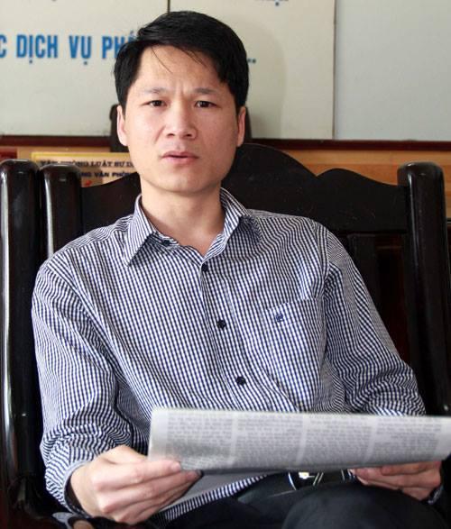 Luật sư Trần Văn An.
