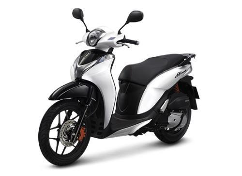 Honda vừa bổ sung màu trắng sứ cho bộ siêu tập SH Mode. Ảnh: HVN