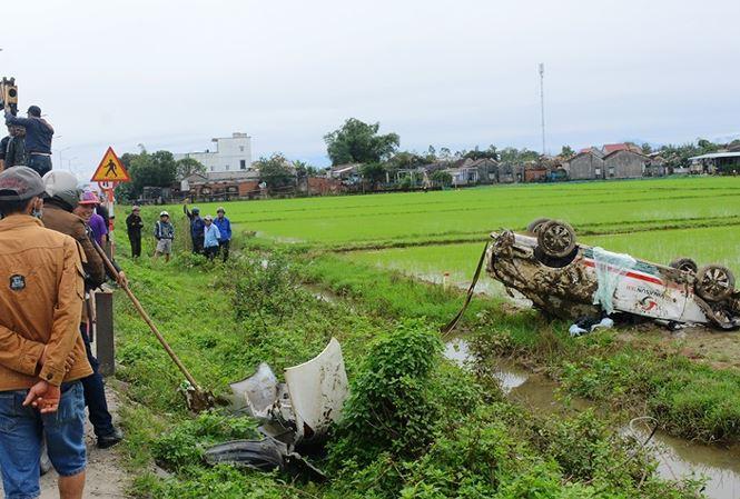 Vụ tai nạn xảy ra khoảng 3h30 sáng nay ngày 10/1.