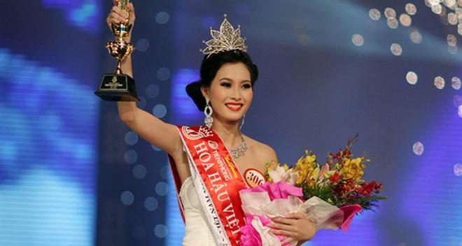Đặng Thu Thảo đăng quang Hoa hậu Việt Nam năm 2012