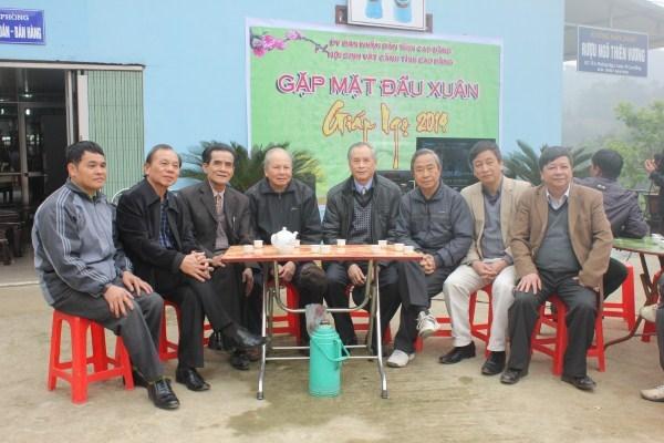 Ban lãnh đạo Hội SVC tỉnh Cao Bằng gặp mặt bàn về công tác Hội