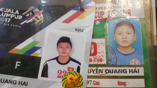 Tiền vệ Quang Hải cũng đẹp trai không kém