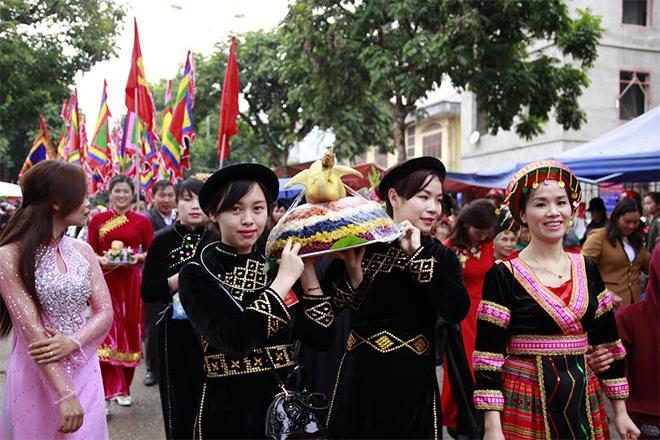 Múa lân tại hội Co Sầu (Ảnh minh họa).