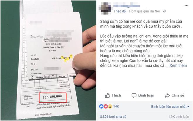 Câu chuyện của chị V.H.P đăng tải trên Facebook thu hút rất đông sự quan tâm của cộng đồng mạng - Ảnh chụp màn hình.