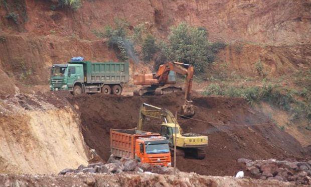 Một điểm khai thác quặng (ảnh minh họa)
