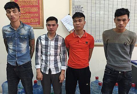 CAH Gia Lâm triệt phá, bắt giữ những đối tượng liên quan đến hàng loạt vụ cướp trên địa bàn huyện Gia Lâm và các tỉnh thành lân cận