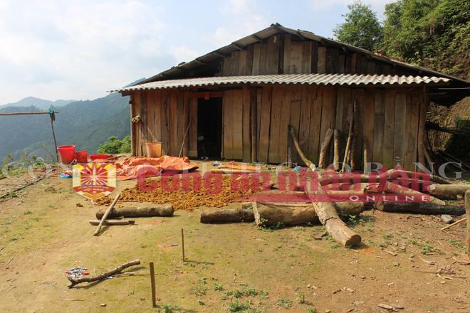 Ngôi nhà chị Triệu Thị Coi