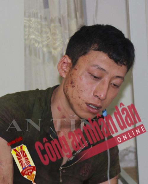 Đối tượng Lý Đình Khánh bị bắt giữ