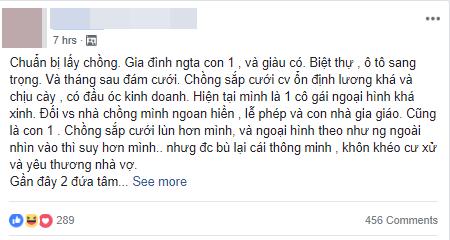 Đoạn chia sẻ của cô gái trẻ trên mạng xã hội khiến nhiều người xôn xao. Ảnh chụp màn hình