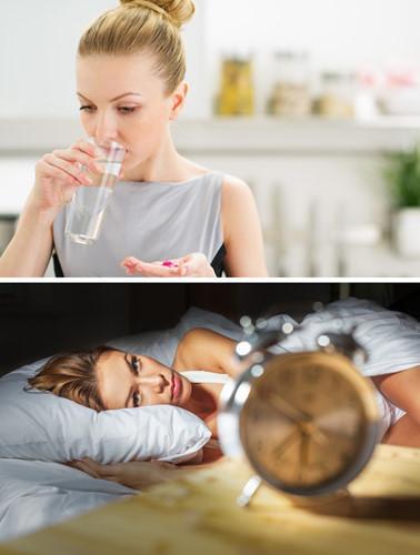 Đừng uống thuốc gần giờ đi ngủ bởi một số loại có thể khiến bạn mất ngủ. Nếu bạn phải uống thuốc, hãy hỏi bác sĩ về thời gian tốt nhất để uống.