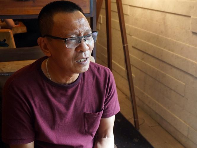 Nhà báo Lại Văn Sâm (Ảnh: Giang Phan/TNO)