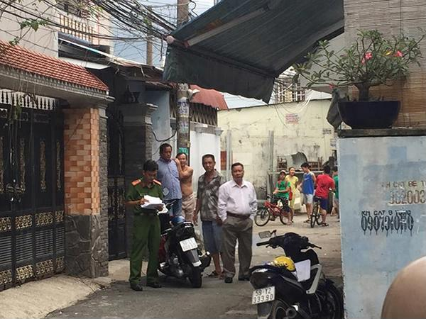 Công an quận Gò Vấp phối hợp với công an huyện Gò Dầu vào cuộc điều tra truy xét. Ảnh: Huy Khoa