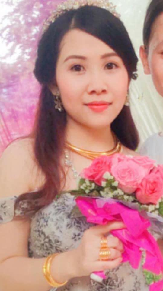 Đây là hình ảnh gương mặt của cô nàng sau khi được mẹ chồng
