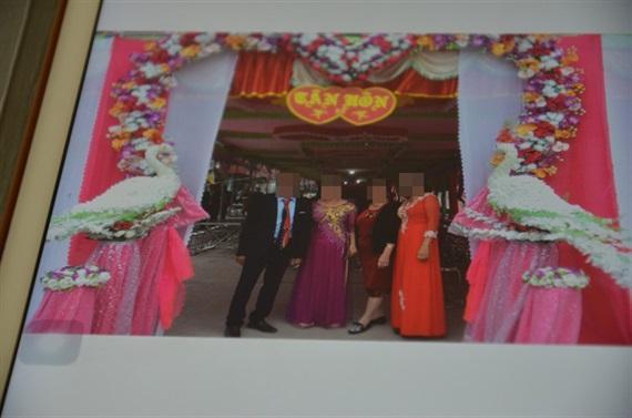 Một đám cưới không cô dâu chú rể ở thị xã Chí Linh, ảnh do bố mẹ nhân vật cung cấp