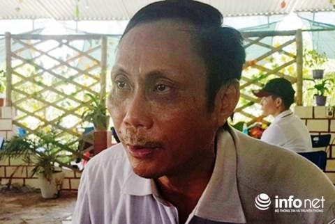 Ông Đào Quang Nghị cho rằng cái chết của chị mình có nhiều điểm bất thường. Nguồn Infonet.