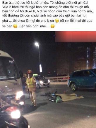Một tổ lái kể chuyện được L giúp đỡ khi đua xe và gặp tại nạn.