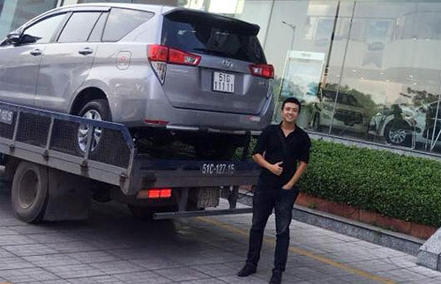 Vào cuối năm 2017, trên mạng xã hội cũng xuất hiện một mẫu xe khác cùng thương hiệu Toyota là Innova bốc được biển số ngũ quý 1 (51G-111.11). Đây là biển số siêu đẹp và sau đó chiếc Innova đã được bán với giá hơn 2 tỷ đồng (chênh hơn 1 tỷ đồng so với giá trị thực của xe).