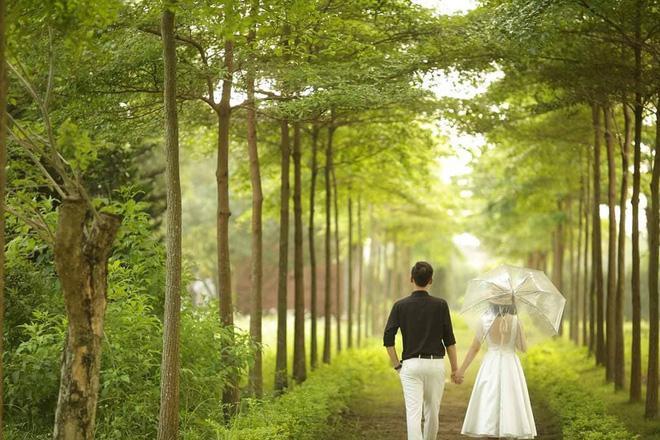Ảnh cưới của vợ chồng Trang - Tâm.