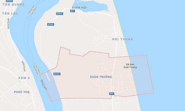 Khu vực nam thanh niên bị bắt cóc (Ảnh google map)