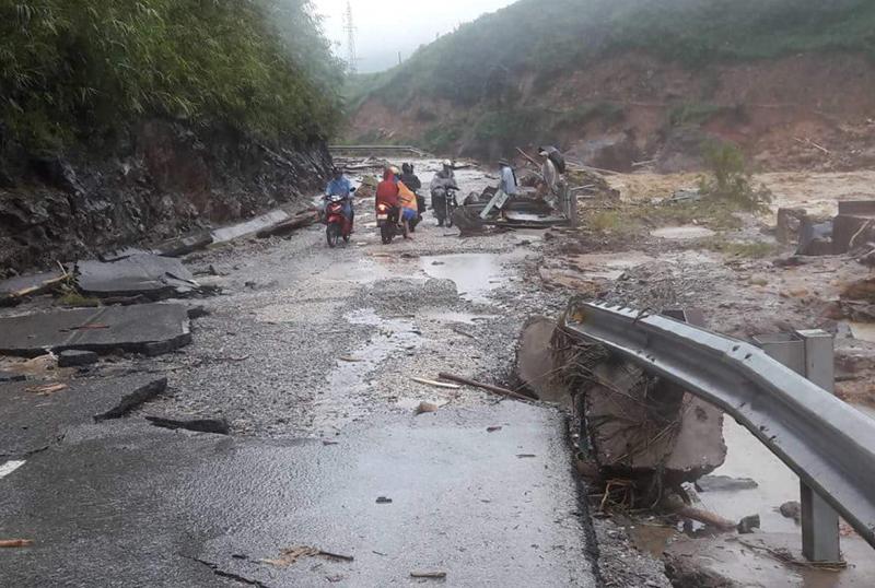 Mưa lũ gây thiệt hại nặng nề tại các tỉnh miền núi phía Bắc. Ảnh FB